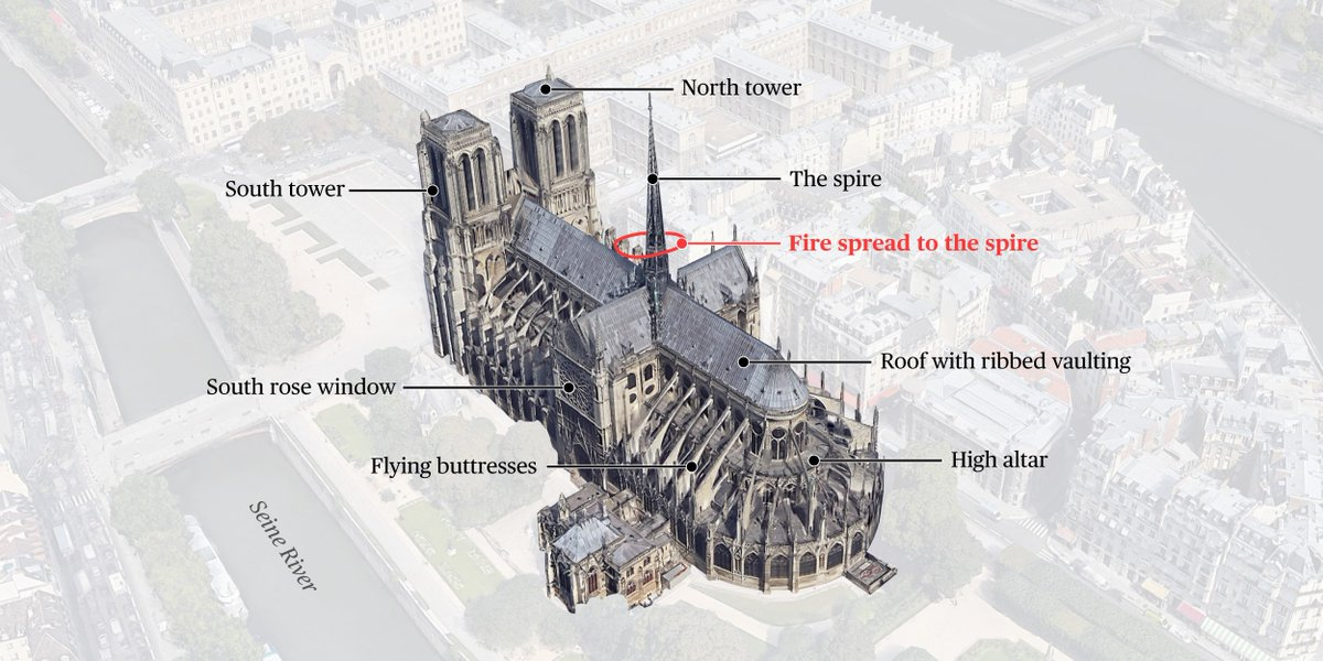 An icon in flames: See a closer look at the ravaged Notre Dame Cathedral https://www.nbcnews.com/news/world/notre-dame-fire-what-was-damaged-n995371…