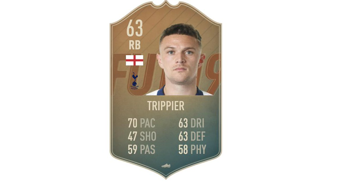 Spurs gotta feel hard done they got Flashback Trippier in the SBC just before kickoff