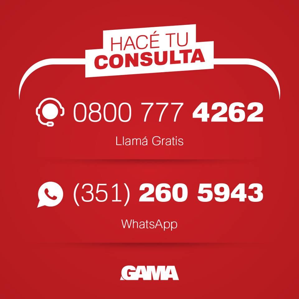 📲 Escribinos hoy!  ▸ Whats App al 351-2605943 ▸ Llamá gratis al 0800 777 4262 ▸ Visitanos en Av. Colón 5034 ▸ Conocé todos nuestros desarrollos ingresando a https://t.co/WS2HC78tIp  #CiudadGama #Gamadesarrollos #Cordoba #InvertienCordoba #30Años https://t.co/yirjqPb7rg