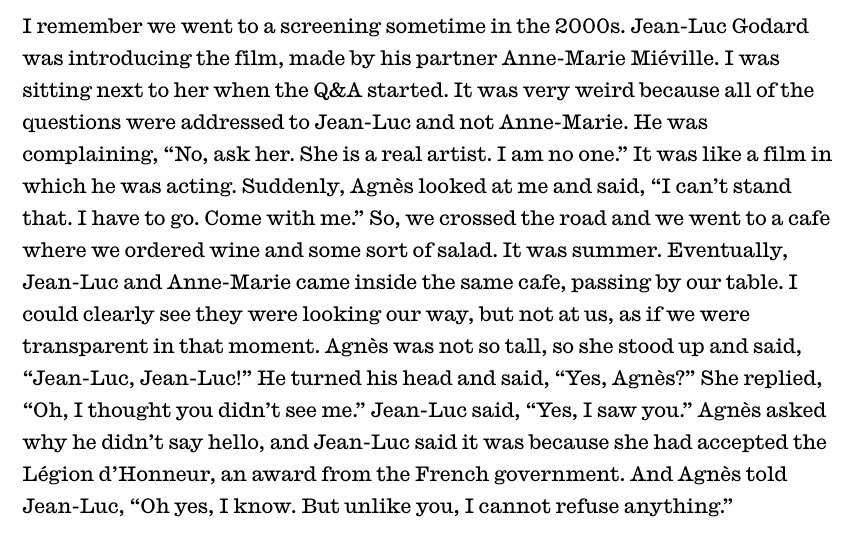 Claire Denis @InterviewMag on that time she went to the movies with Agnès Varda:  https://www. interviewmagazine.com/film/claire-de nis-is-in-no-rush-to-make-films-for-you-high-life &nbsp; … <br>http://pic.twitter.com/xTN7BQsJjr