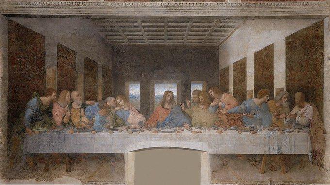 Los secretos de 'La última cena' de Da Vinci, explicados en un hilo