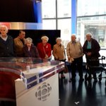 What a fabulous experience! Our residents are enjoying a tour @CBCVancouver today! Thanks to our fantastic tour guides and cbc staff. #CBC #cbctours #augustinehouse #forbetterretirementliving