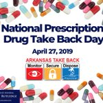 Image for the Tweet beginning: Saturday is National Prescription Drug