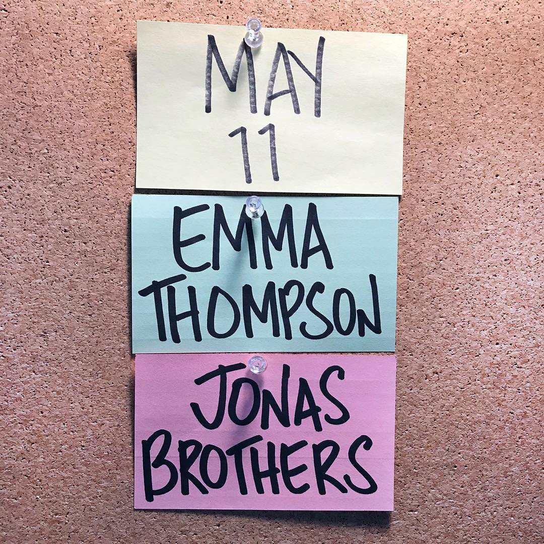 Emma Thompson is hosting @nbcsnl. That's it. That's the tweet.