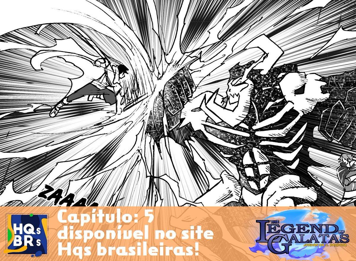 Agora não tem desculpa, Legend esta disponível em quase todos os cantos hehe Capítulo 5 da treta de Shinji no meio de uma cidade em caos, agora esta disponível para leitura também no site HQS Brasileiras, confere lá :v  link: http://www.hqsbrasileiras.com.br/legand-of-galatas-5/…