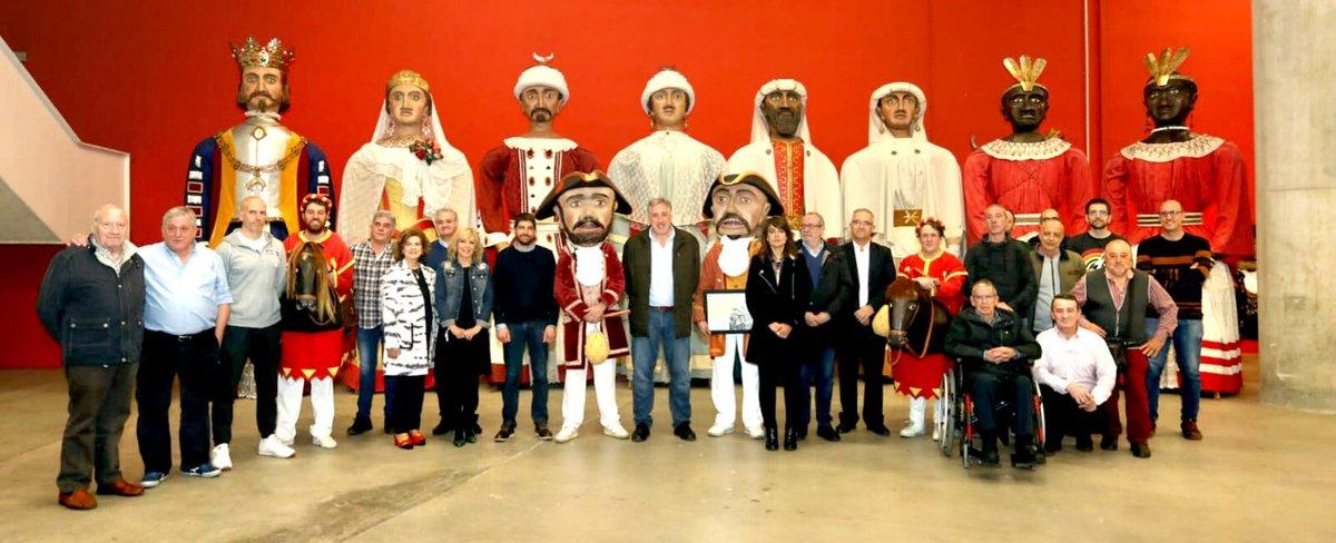 Mañana se cumplirán 200 años del nacimiento de Tadeo Amorena, creador de los #gigantes de #pamplona.  Bere ekarpena inoiz baino biziago dago. Erraldoiek dantza egiten duten artean Iruñeak aurrera egingo du!