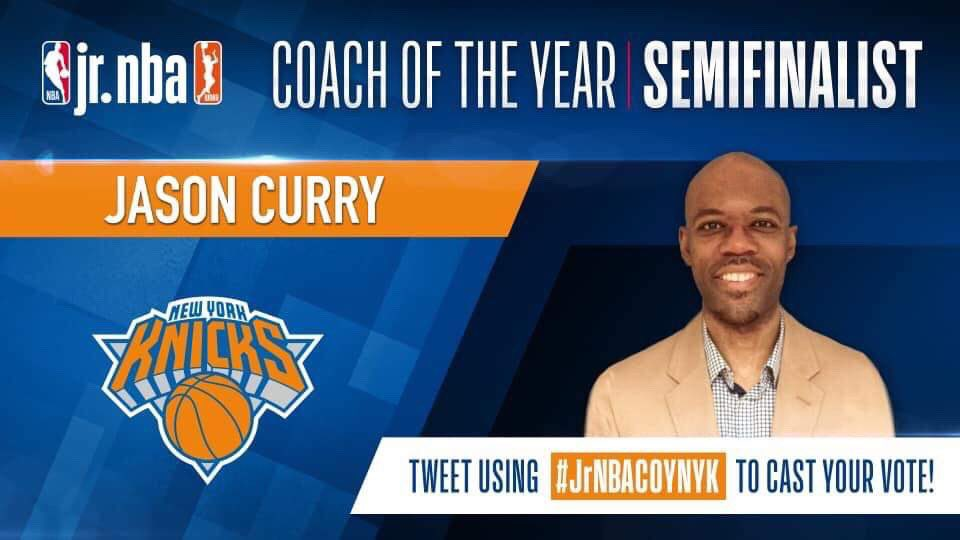 Vote for Jason Curry for Jr. NBA coach of the year! Either retweet this or simply start your own using #JrNBACOYNYK  Well done and well deserved, Coach Curry!  #smcvt #saintmikes #saintmikesalum #saintmikesalumni #saintmichaelscollege #bigapplebasketball