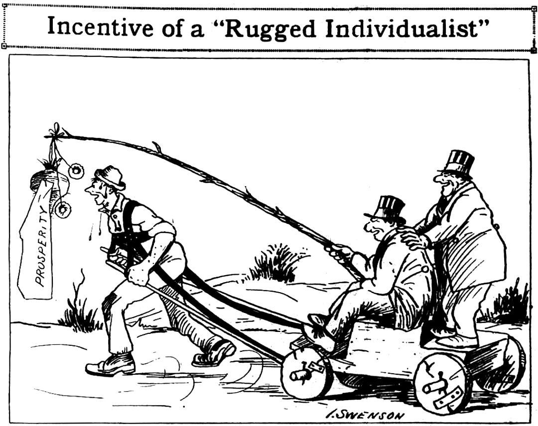 by I. Swenson. Published in Industrial Worker on September 30th, 1931. #iww #1u <br>http://pic.twitter.com/kbFftL9kKl