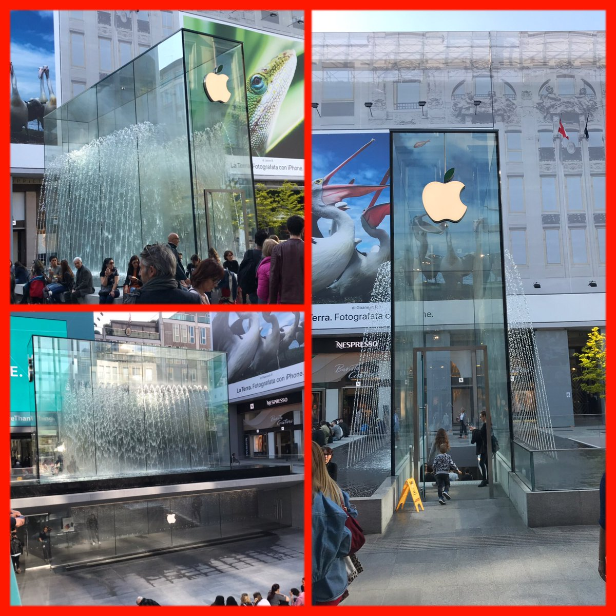 """Der """"Tempel"""" der #Apple Jünger in #Mailand"""