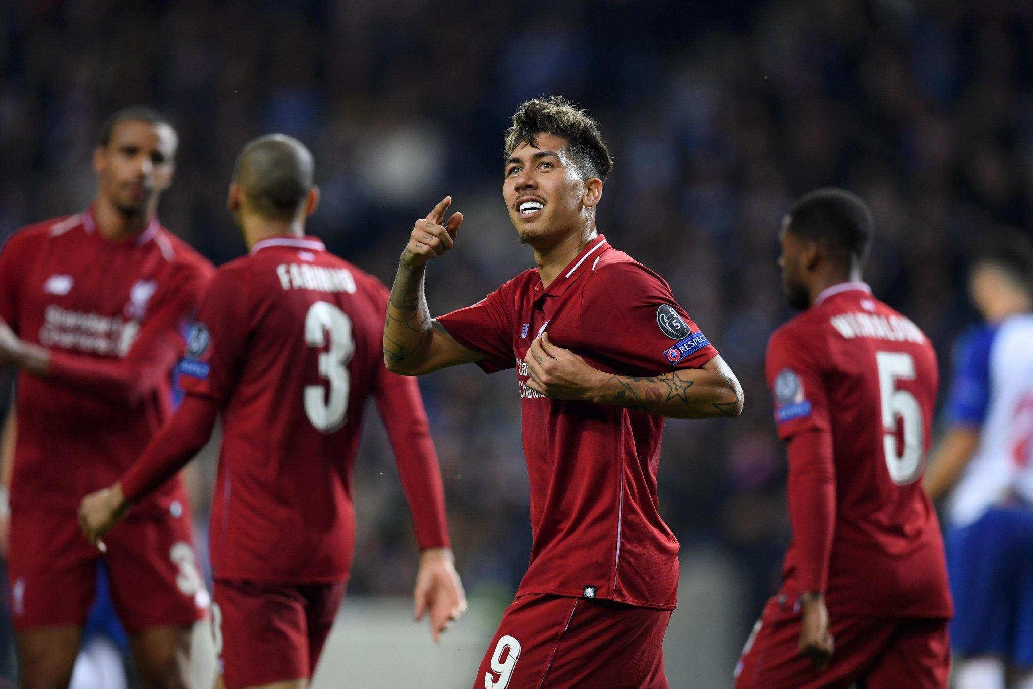 أهداف فوز ليفربول على بورتو -  دوري أبطال أوروبا