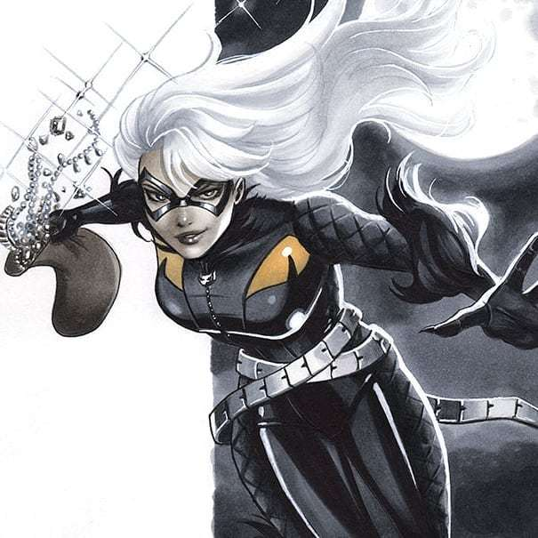 #blackcat commission #spiderman #marvel #marvelcomics #blackcatspiderman bit.ly/2KM3rLy