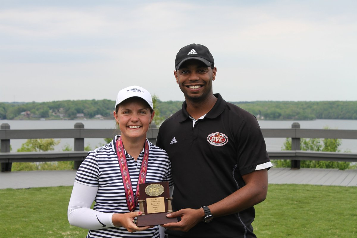 Congratulations to @RacersWGolf senior Anna Moore for winning the 2019 OVC Women's Golf ⛳ Championship Medalist crown.  Anna tallied a three-round score of 211 to win the Championship by one shot over her teammate.