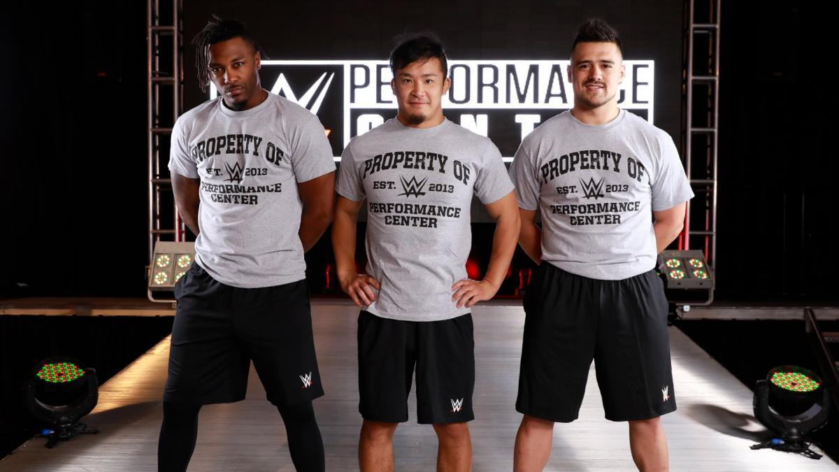 Top International Wrestlers Report To The WWE Performance Center (Photo)