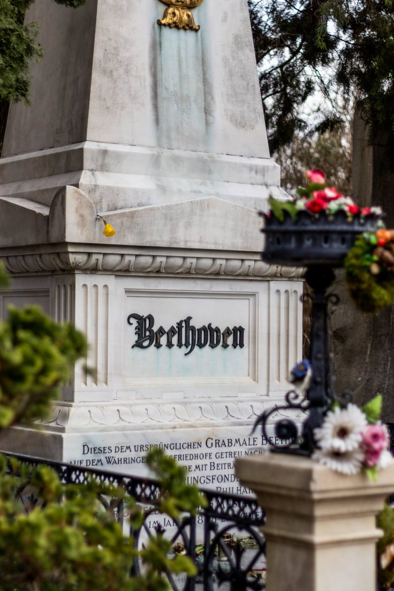 Would you pay to spend eternity near Beethoven and Schubert? Tombstone tourism's last stop: a plot of your own in Vienna Central Cemetery.  https://nyti.ms/2UqfU7f