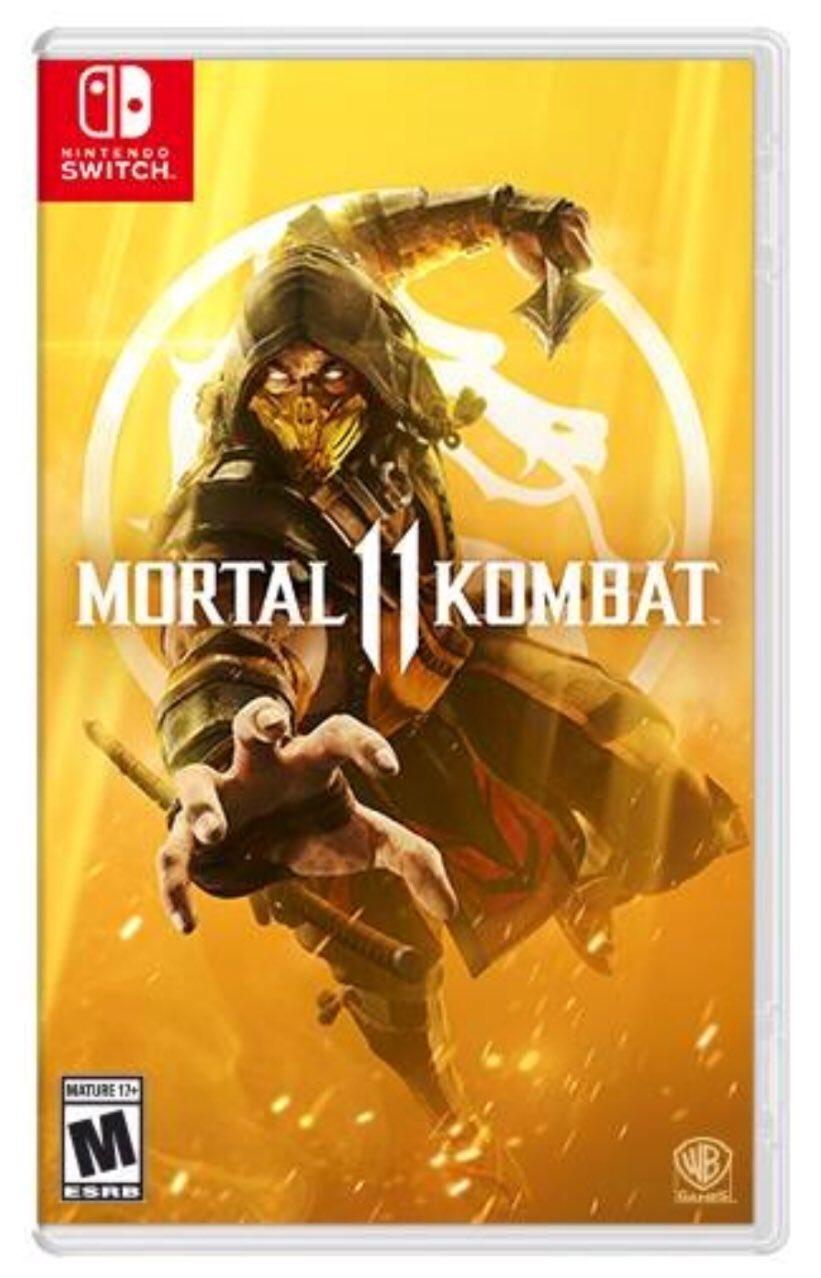 Mortal Kombat 11 on Nintendo Switch, at Paul Gale Network