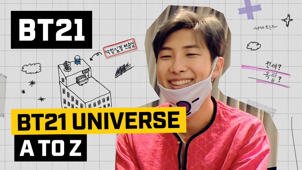"j-hope: Noooooooo~~~~ 😳 RM: ""byong"" ☺ Jin: MANG!! 🗯 ​ Wanna know what this is all about? Come join us for another round of fun:) 👉 https://lin.ee/cwvVTMp  ​ #BT21_UNIVERSE #EP03 #AtoZ #CheckitoutNow #BT21"