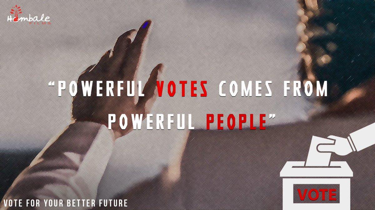 ಪ್ರಜಾಪ್ರಭುತ್ವದ ಹಬ್ಬ ದಲ್ಲಿ ಎಲ್ಲರೂ ಭಾಗವಹಿಸೋಣ. ಸದೃಢ ರಾಷ್ಟ್ರ ನಿರ್ಮಾಣದಲ್ಲಿ ಪಾಲ್ಗೊಳ್ಳೋಣ. ತಪ್ಪದೇ ಮತ ಚಲಾಯಿಸಿ. #VoteForIndia #LokSabhaElections2019