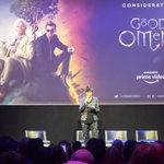 It's Armageddon and they've lost The Antichrist.   @TheEmmys / Television Academy gets a first look at #GoodOmens thanks to @primevideo... and it's awesome.   @aishatyler moderates a prime 😉 panel for the upcoming show.