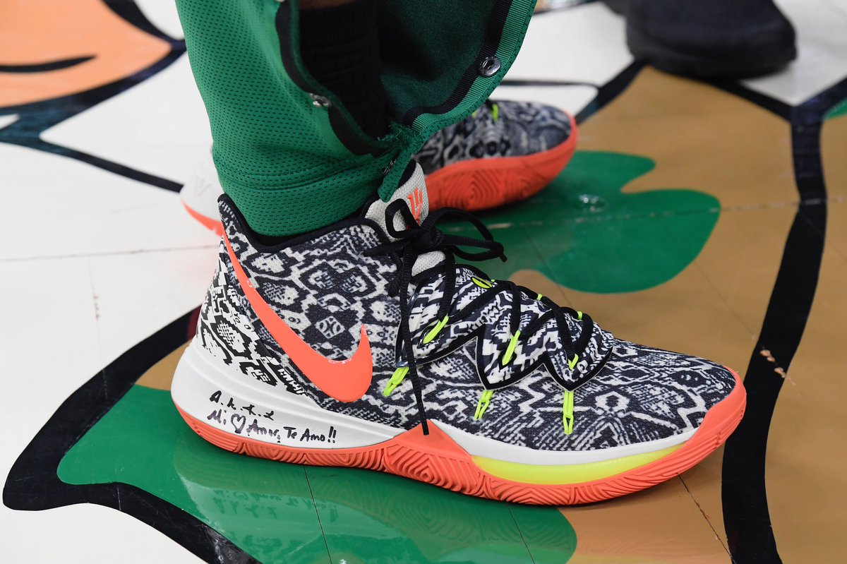 7aa9b7029f3 crazy patterns for kyrieirvings game 2 nike kyrie 5 pes