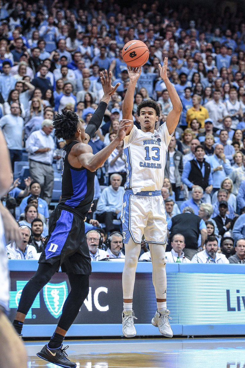 Cam Johnson - 2019 Carolina MVP   All the team honors from the 2019 awards ceremony ➡️ https://goheels.com/news/2019/4/17/mens-basketball-johnson-receives-mvp-honor-at-unc-basketball-awards-ceremony.aspx …  #CarolinaSZN