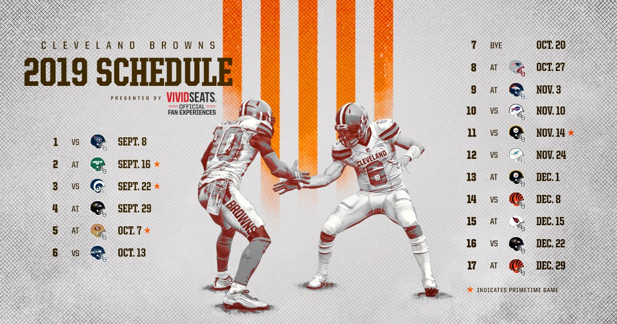 MARK YOUR CALENDARS! 📆  Our 2019 schedule is set.  Details » http://brow.nz/Kjw4OE