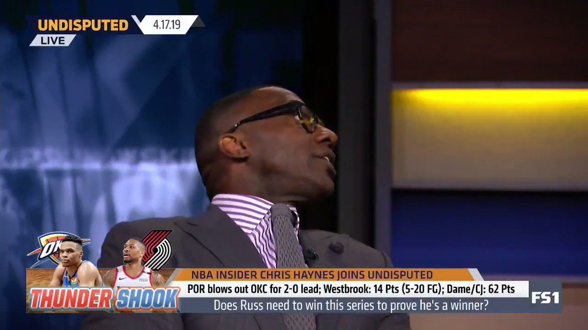 """""""I don't know Paul George, you probably should've gone to LA. Things would've been a lot better."""" — @ShannonSharpe"""