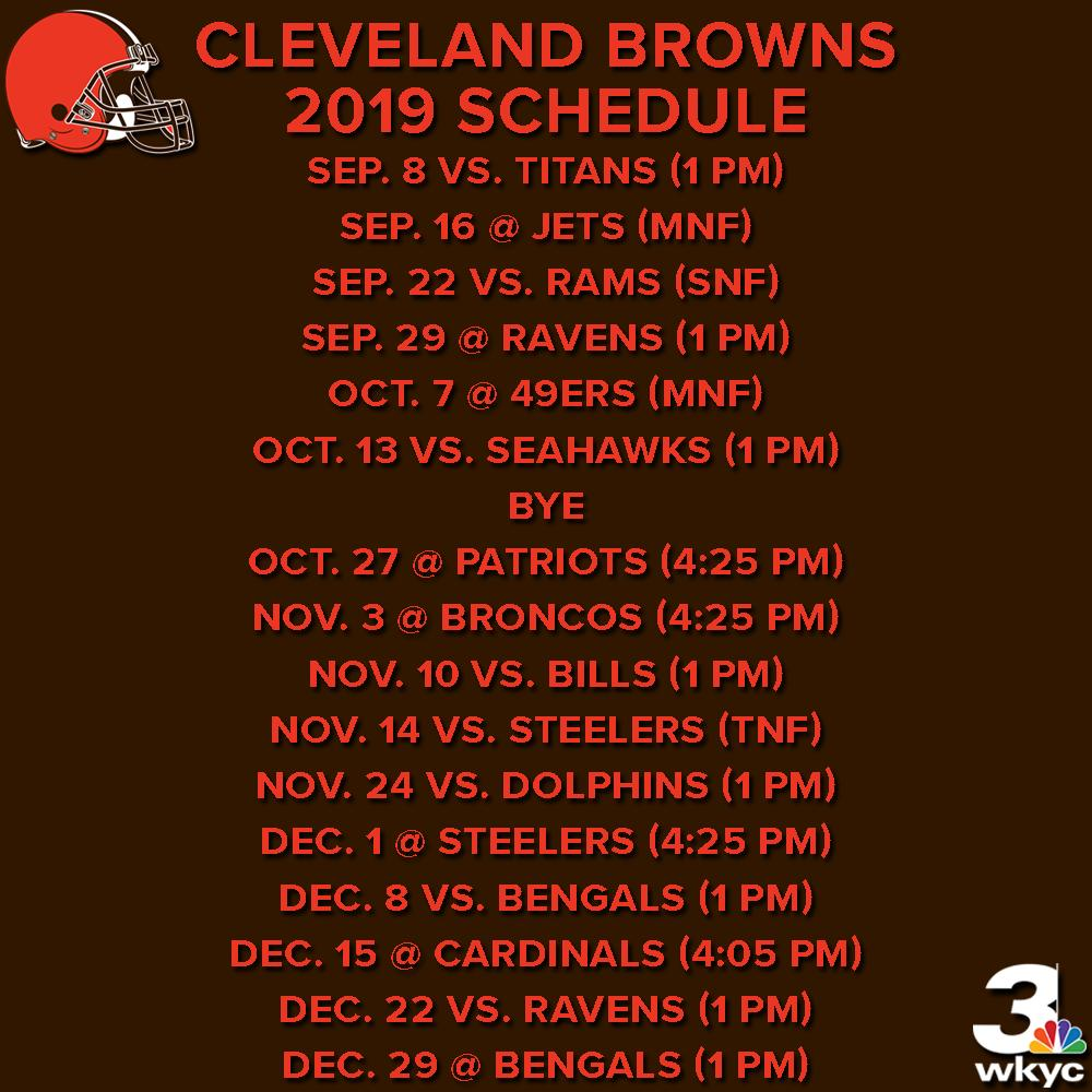 WKYC Channel 3 News's photo on Browns