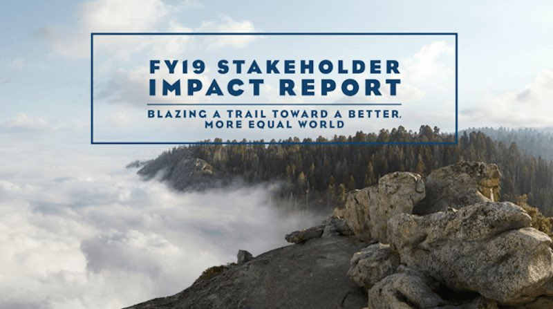 There is no planet B—that is why Salesforce just released our annual stakeholder impact report—the most comprehensive & transparent report yet on ESG initiatives, metrics, & blueprints on our journey to drive positive social impact. Would love feedback! https://www.salesforce.com/content/dam/web/en_us/www/documents/white-papers/sustainability-FY19-stakeholder-impact-report.pdf…