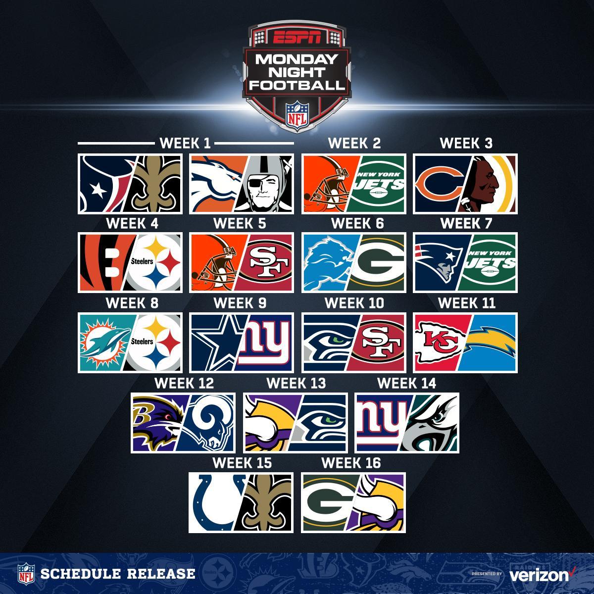 NFL's photo on Monday Night Football