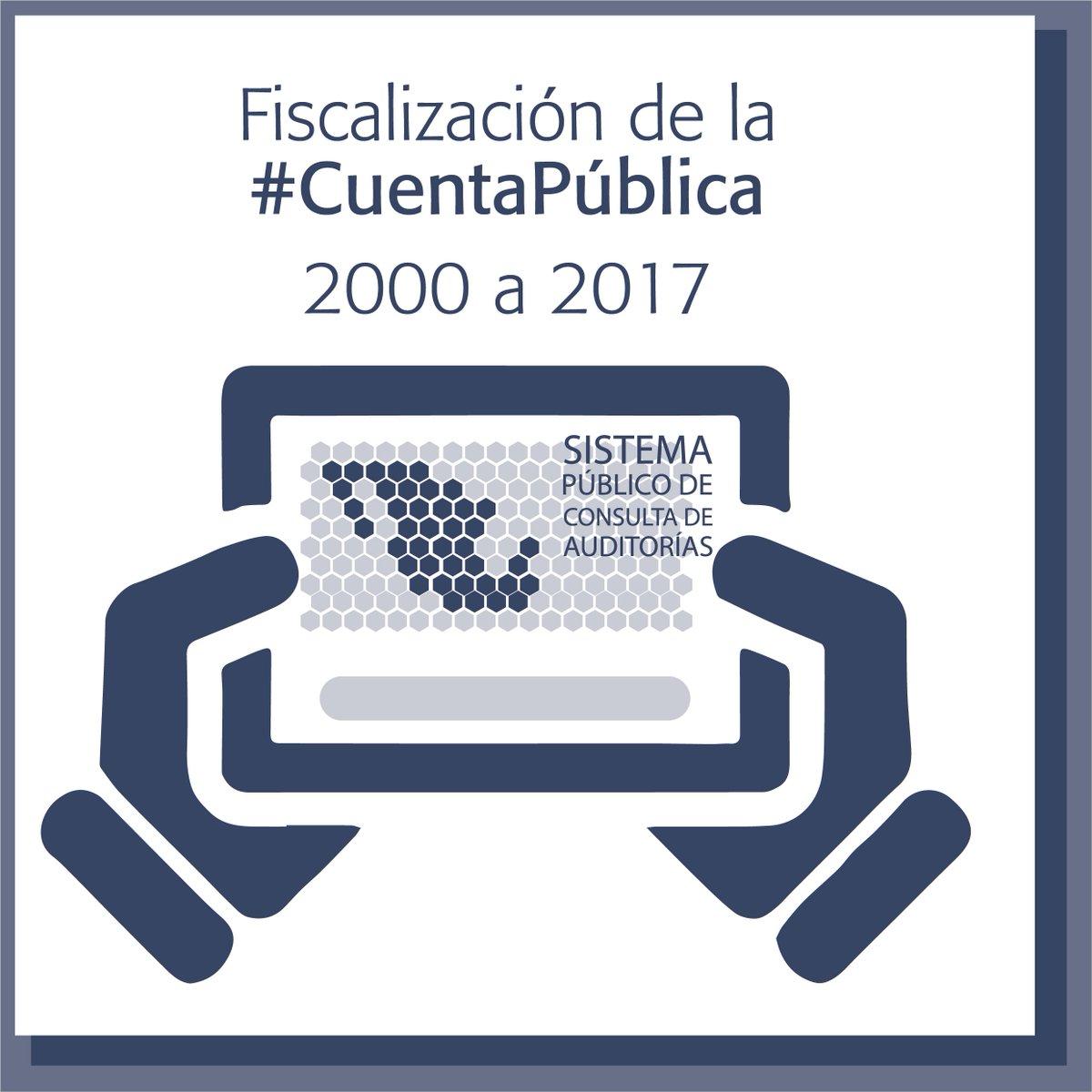 La Auditoría Superior de la Federación tiene disponibles más de 16,000 informes realizados desde la #CuentaPública del año 2000.  Sistema Público Consulta de Auditorías, visítalo: http://www.asfdatos.gob.mx/