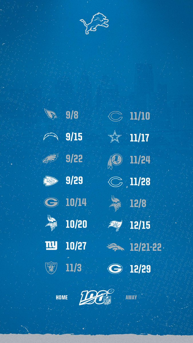 Detroit Lions On Twitter Some Wallpaper To Freshen Up