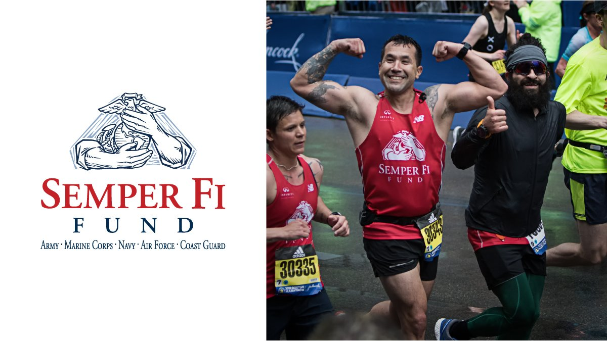 We are incredibly proud of Team Semper Fi and all of the Community Athletes who participated in the 2019 Boston Marathon on Monday! Thank you generous sponsors, supporters and families!  #semperfifund #teamsemperfi #boston2019 <br>http://pic.twitter.com/zODqmeHNcD