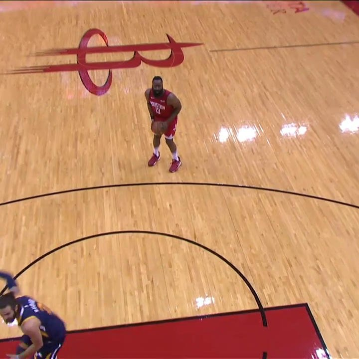 Harden got Rubio but shimmied a little too early 🤣