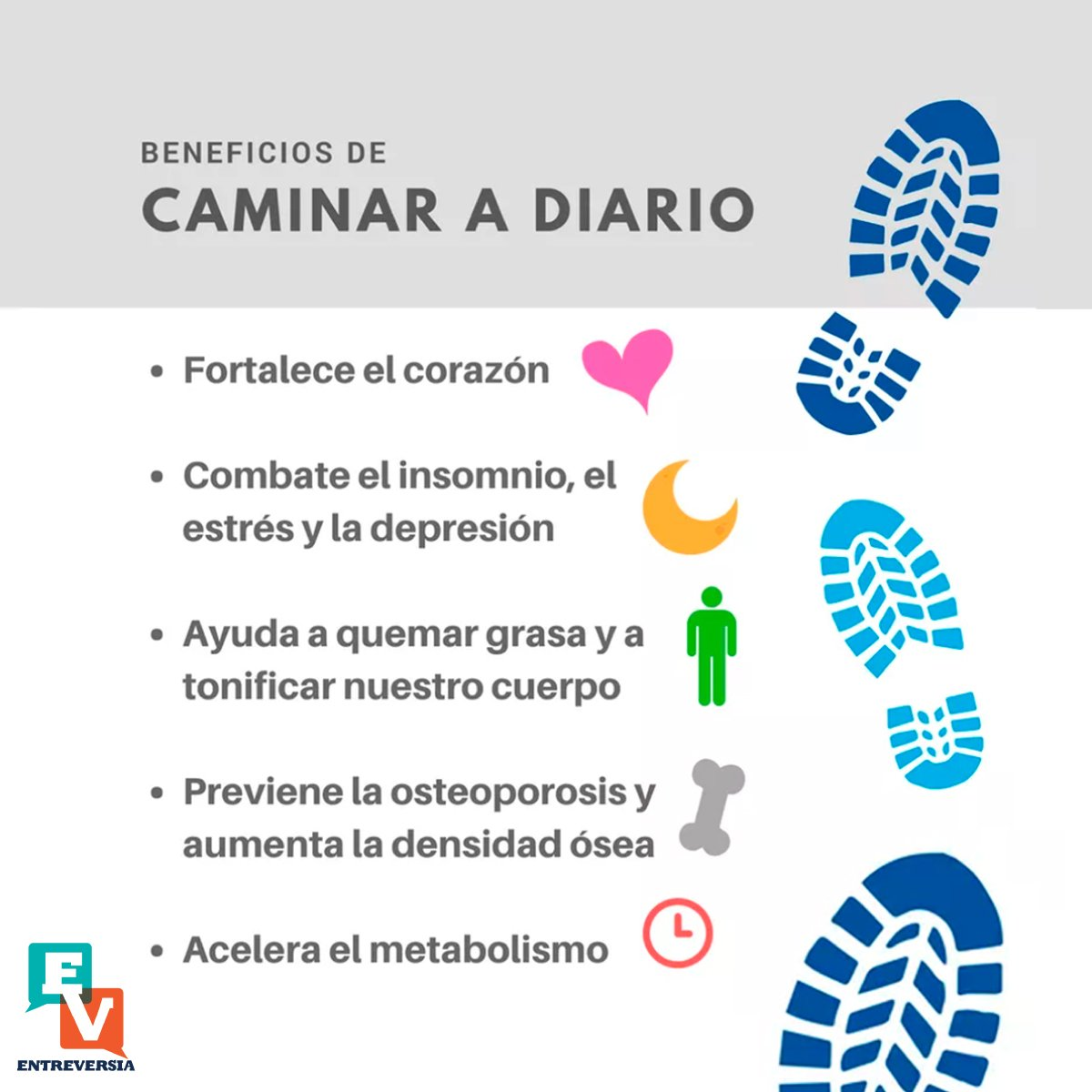 Caminar beneficios