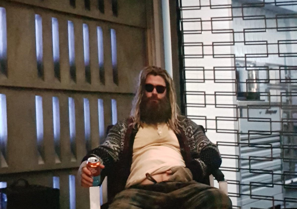 Man this fat drunk Thor killed me in end game xD #endgame