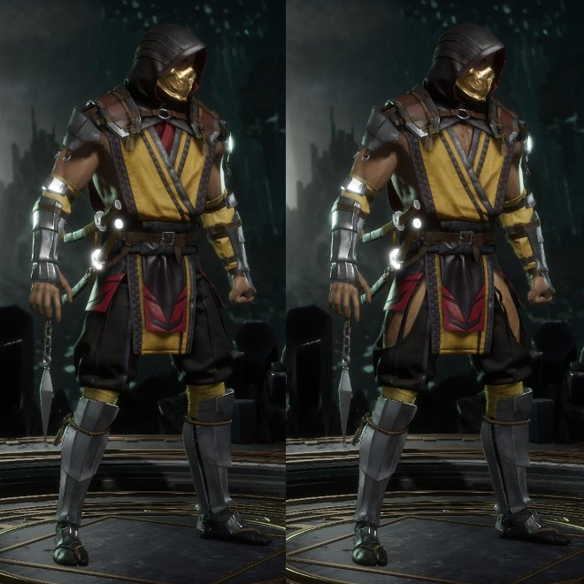 Chwistopher On Twitter Mortal Kombat 11 Scorpion But Slightly