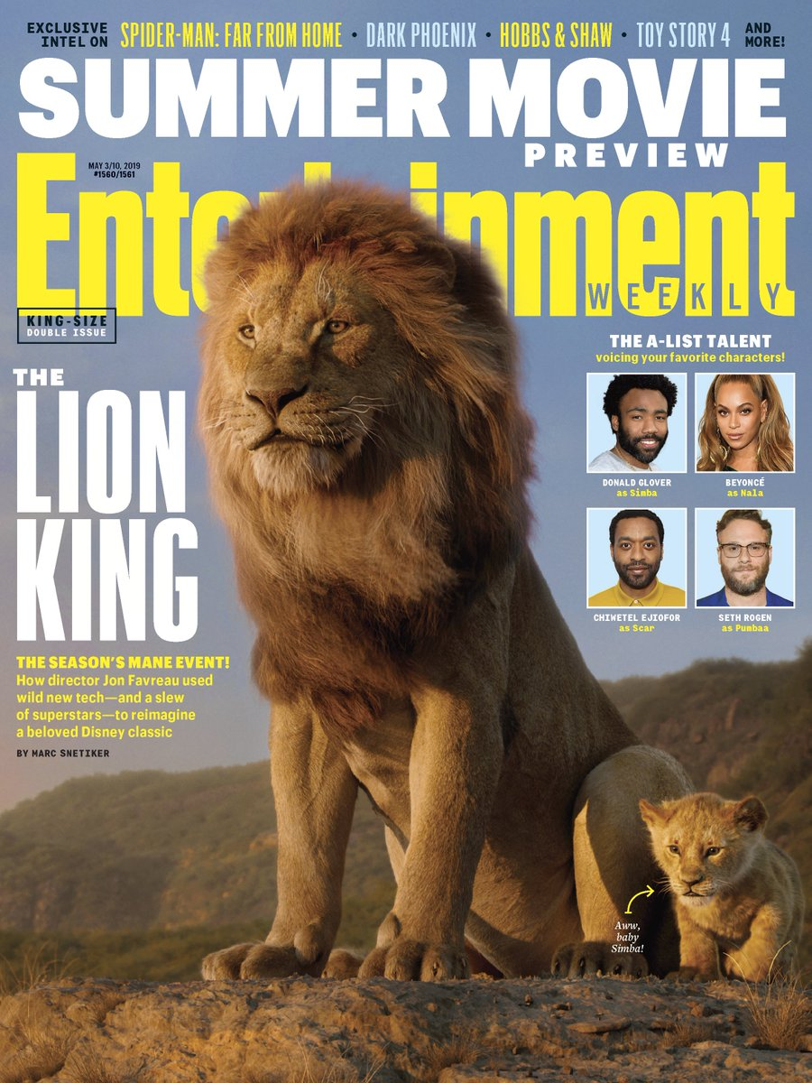 Entertainment Weekly's photo on #TheLionKing
