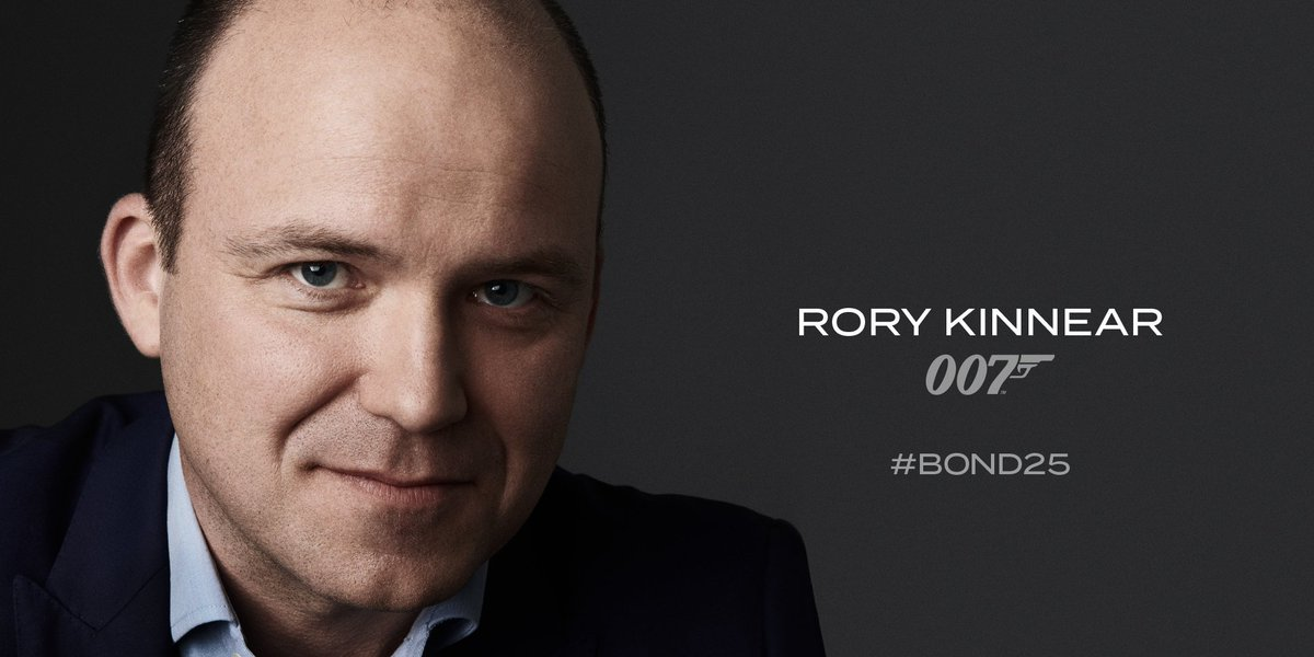 CONFIRMED returning to MI6 for BOND25 is Rory Kinnear Bond 25.
