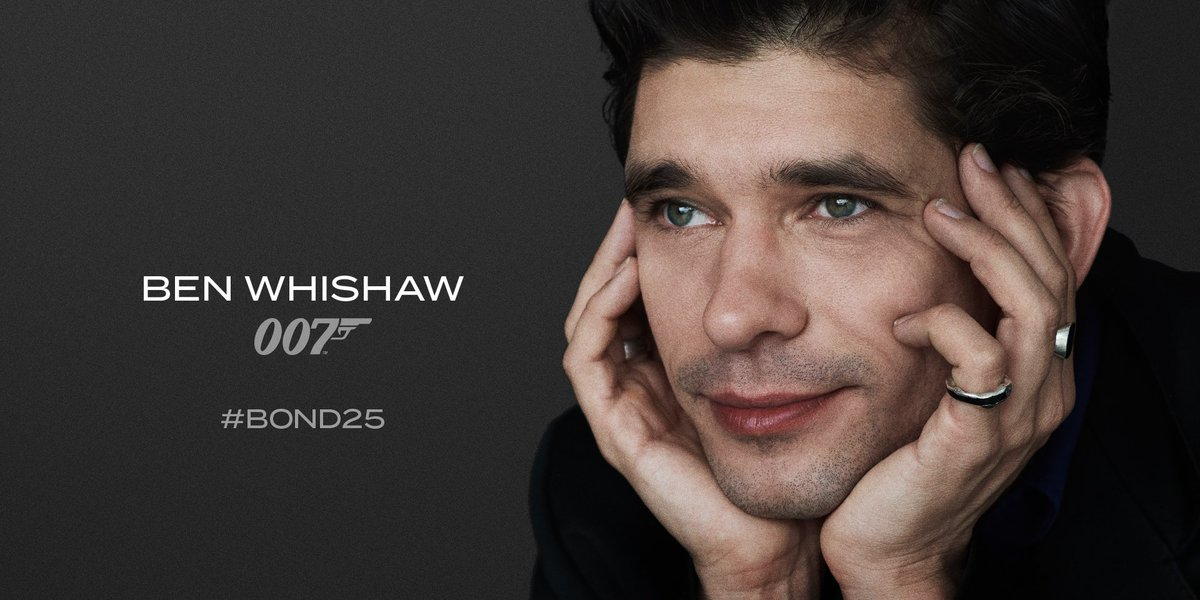 Ben Whishaw Bond 25.
