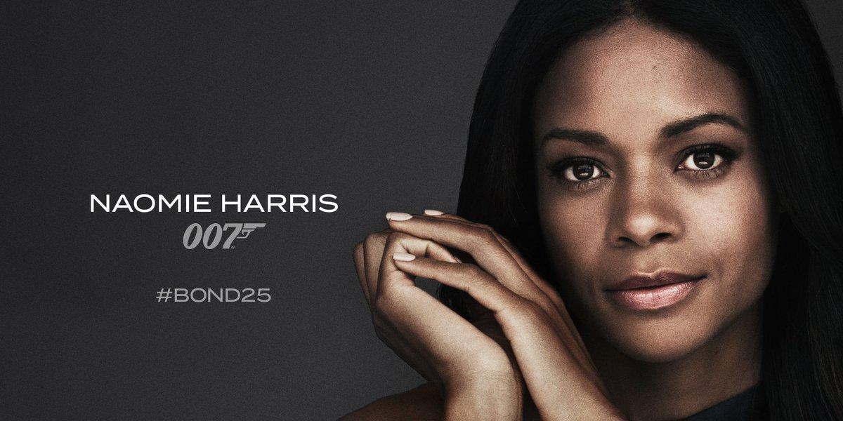 Moneypenny? Naomie Harris Bond 25.