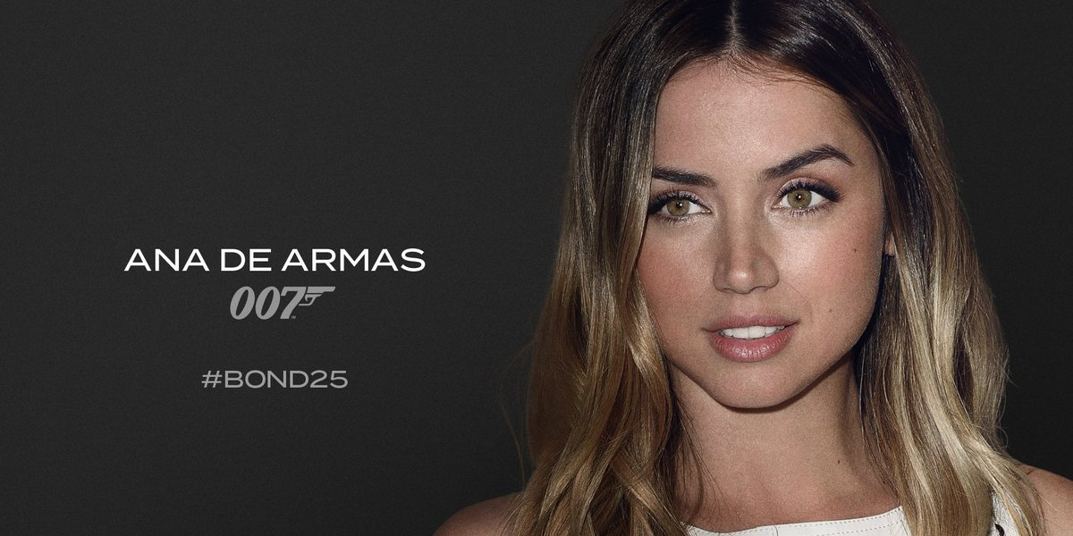 James Bond's photo on Ana de Armas