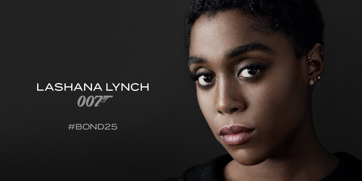 Lashana Lynch Bond 25.