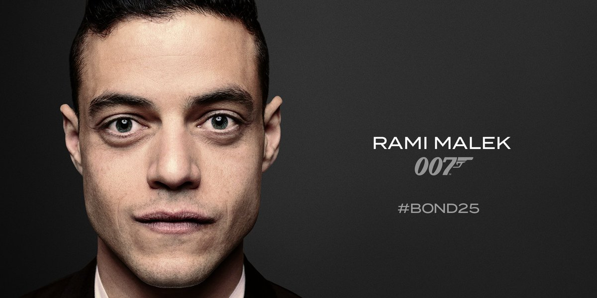 James Bond's photo on Rami Malek
