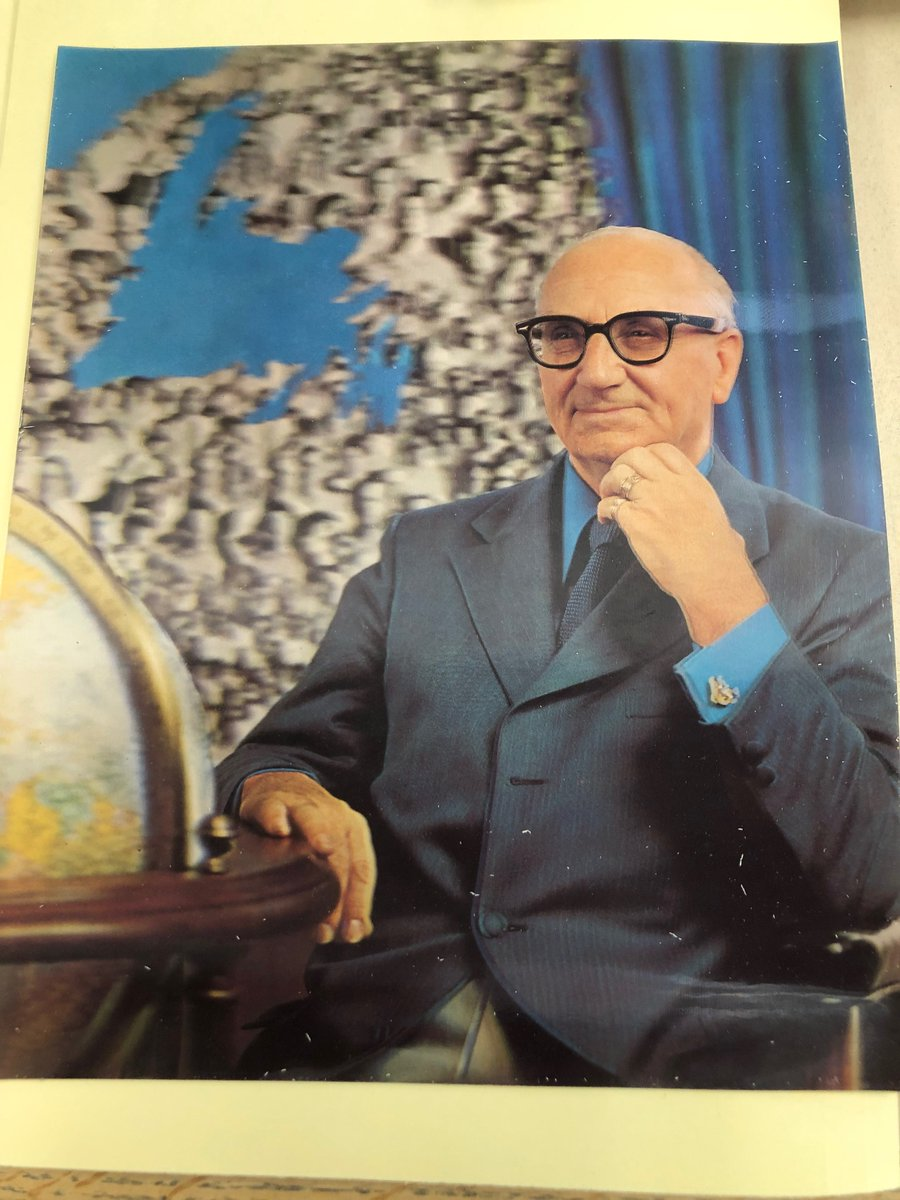 Enter to win!!! We have 998 followers on our Twitter feed. Number 1000 gets a 3 D photo of the Honorable Joseph Smallwood, Premier of Newfoundland and Labrador 1949-1972 (we have a box full) @MUNQEII