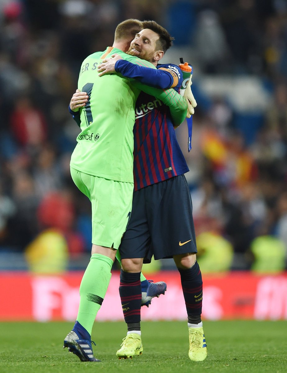 """Ter Stegen: """"When I was 16, I always said that if I left Borussia Monchengladbach, I would go to to Barça.""""  You need to be our captain one day, Marc!"""