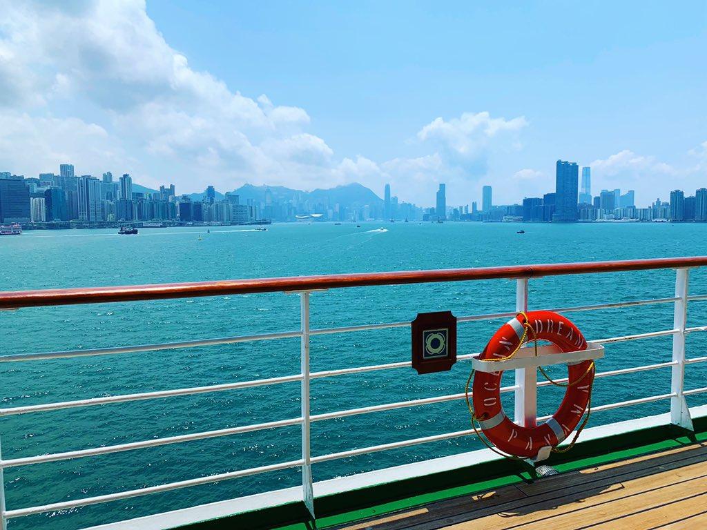 香港に無事着きました!! こちらは晴天 気温は31℃のよさこい日和です◎