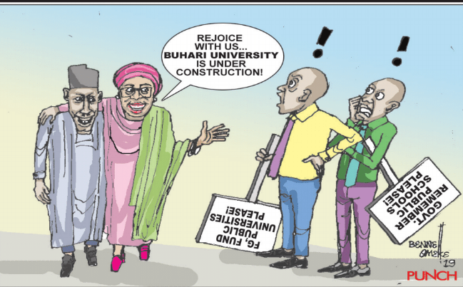 One word for this cartoon.