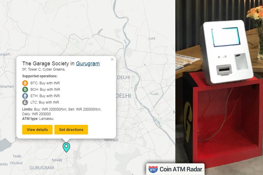 bitcoin atm în delhi