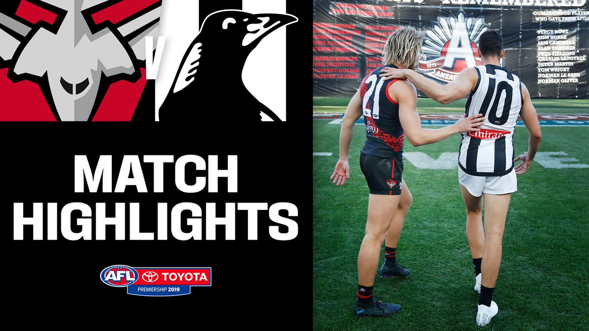 One of the closest Anzac Day games in its 25-year history.  Watch the highlights here. https://youtu.be/KkXgO-QPcVQ