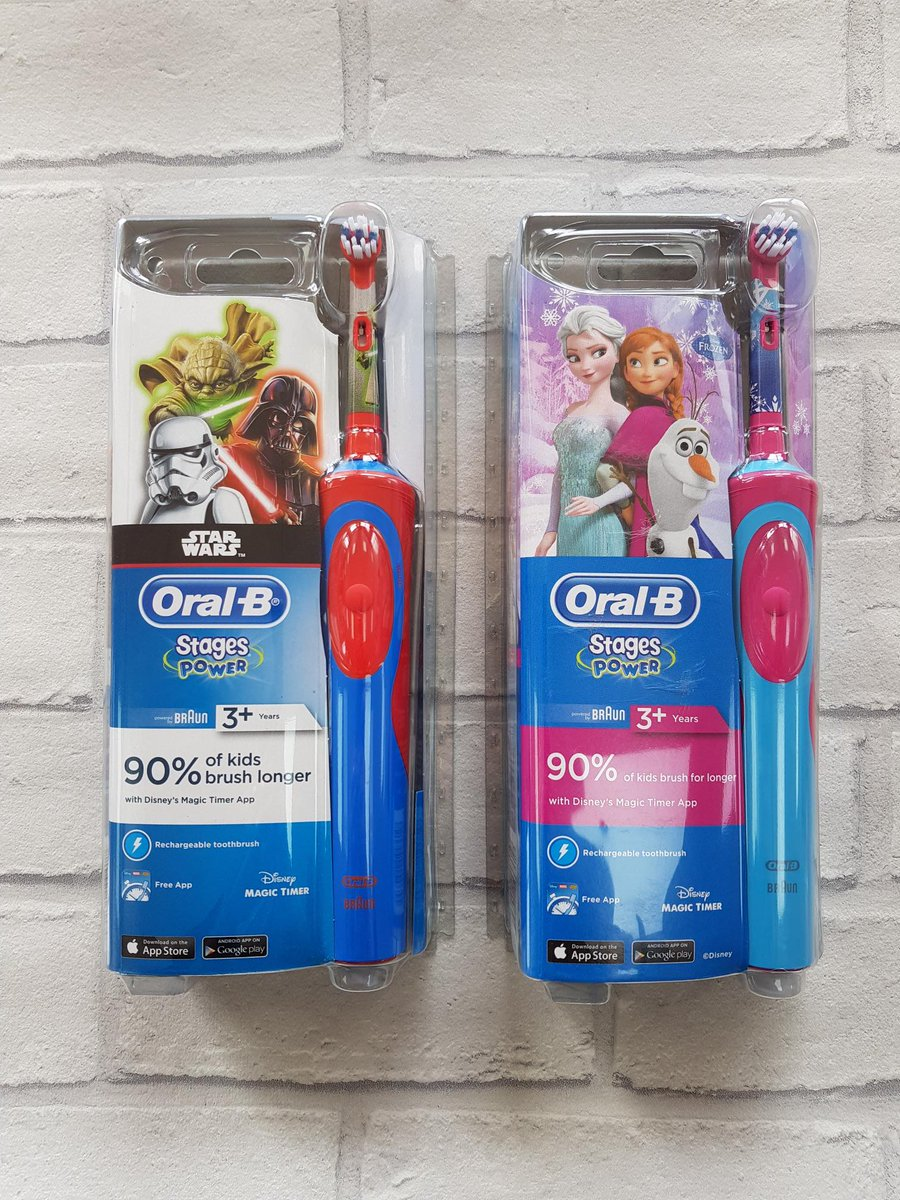 #freebiefriday #friyay This week we have two kids @OralB electric toothbrushes from @superdrug to win! To enter, just tell us how you get your kids to brush! and RT!    Ends Thursday 23/5 at 10am. Winner must collect.<br>http://pic.twitter.com/ii54u2vI7R